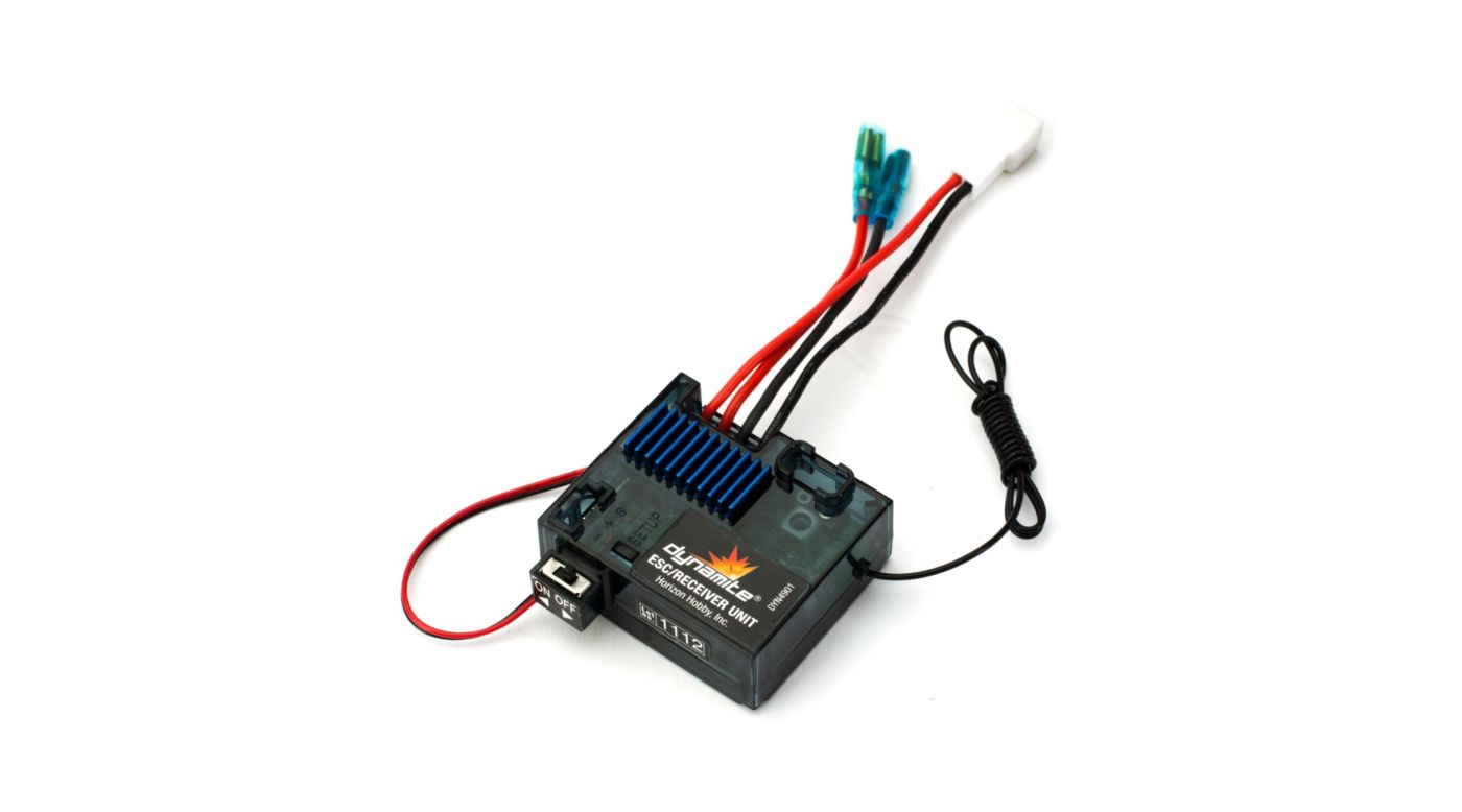 Image for Tazer ESC Reciever Unit  Mini Surface from HorizonHobby