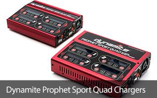 Dynamite Prophet Sport Quad AC/DC Battery Charger
