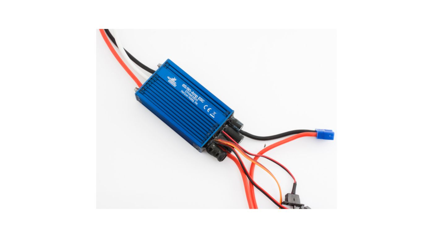 Image for 80A Brushless Marine ESC: Dual Battery from HorizonHobby