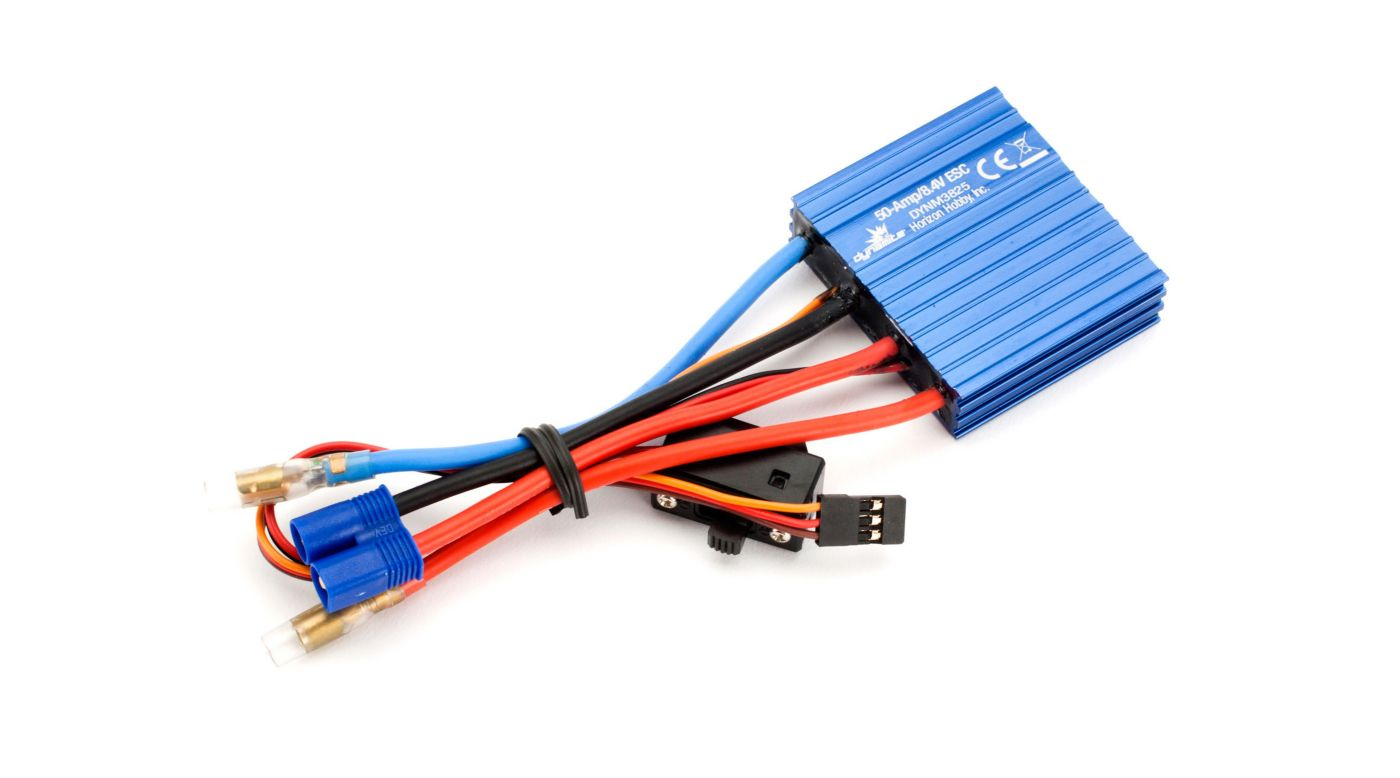 Image for 50A BRUSHED ESC  SINGLE BATTERY from HorizonHobby