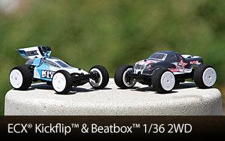 ECX Beatbox Kickflip