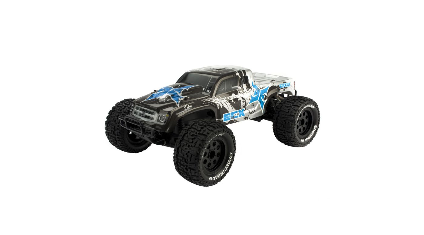 Image for 1/10 Ruckus 2WD Monster Truck RTR, Charcoal/Silver from HorizonHobby