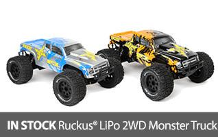 ECX Ruckus 2WD LiPo Monster Truck RTR Ready to Run