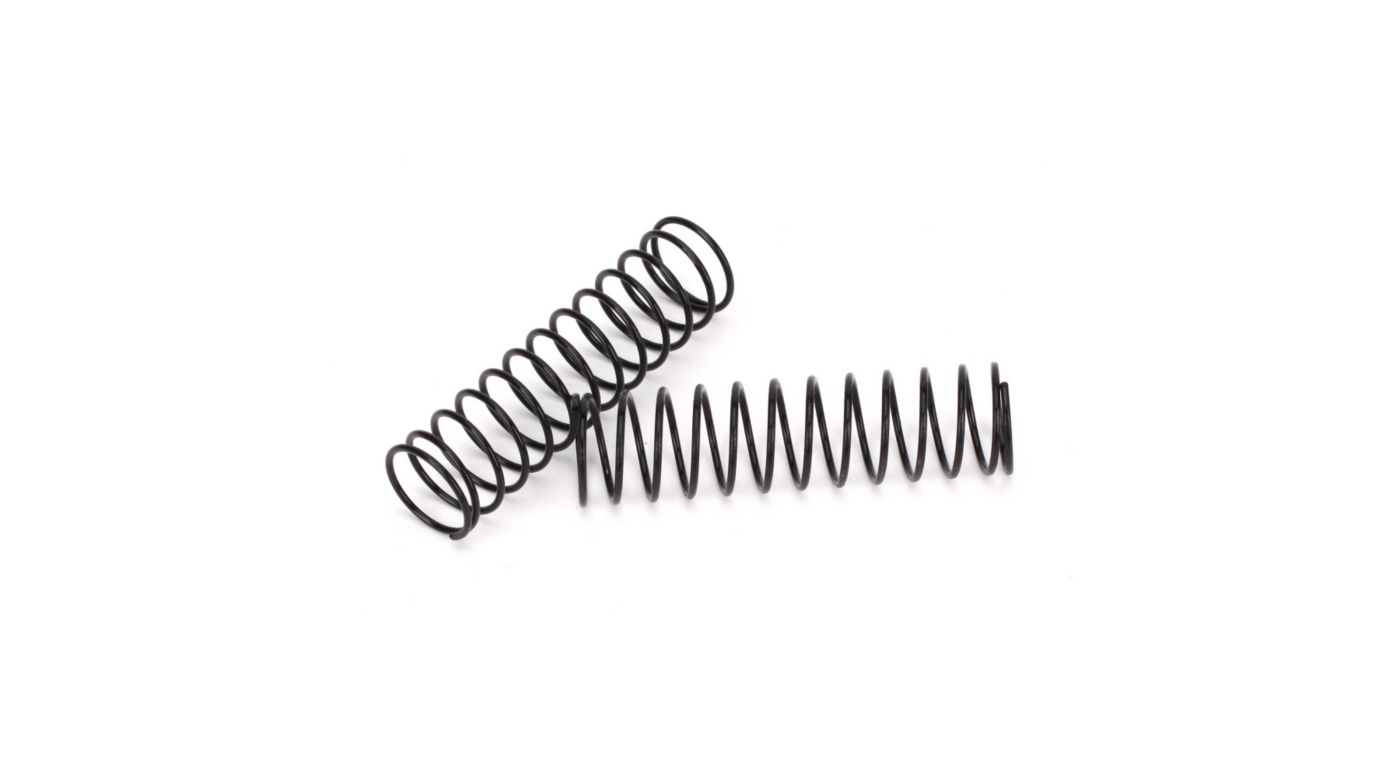 Image for Front Spring Black, Medium (2): All 1/10 2WD from HorizonHobby