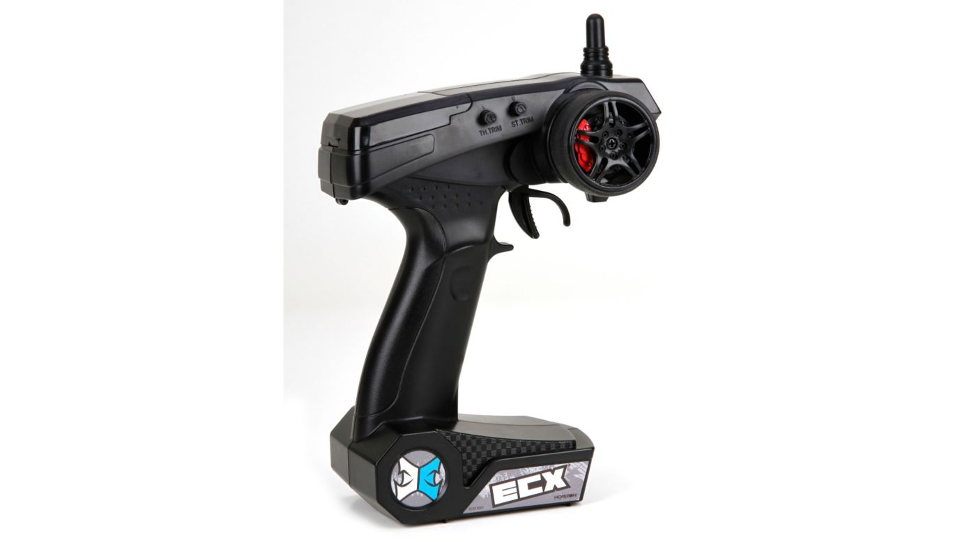 Image for ECX 2.4GHz Transmitter, 2-Channel V2 from HorizonHobby