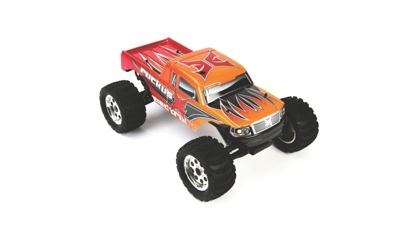 Image for Ruckus 1/10 Waterproof Monster Truck RTR, Orange from HorizonHobby