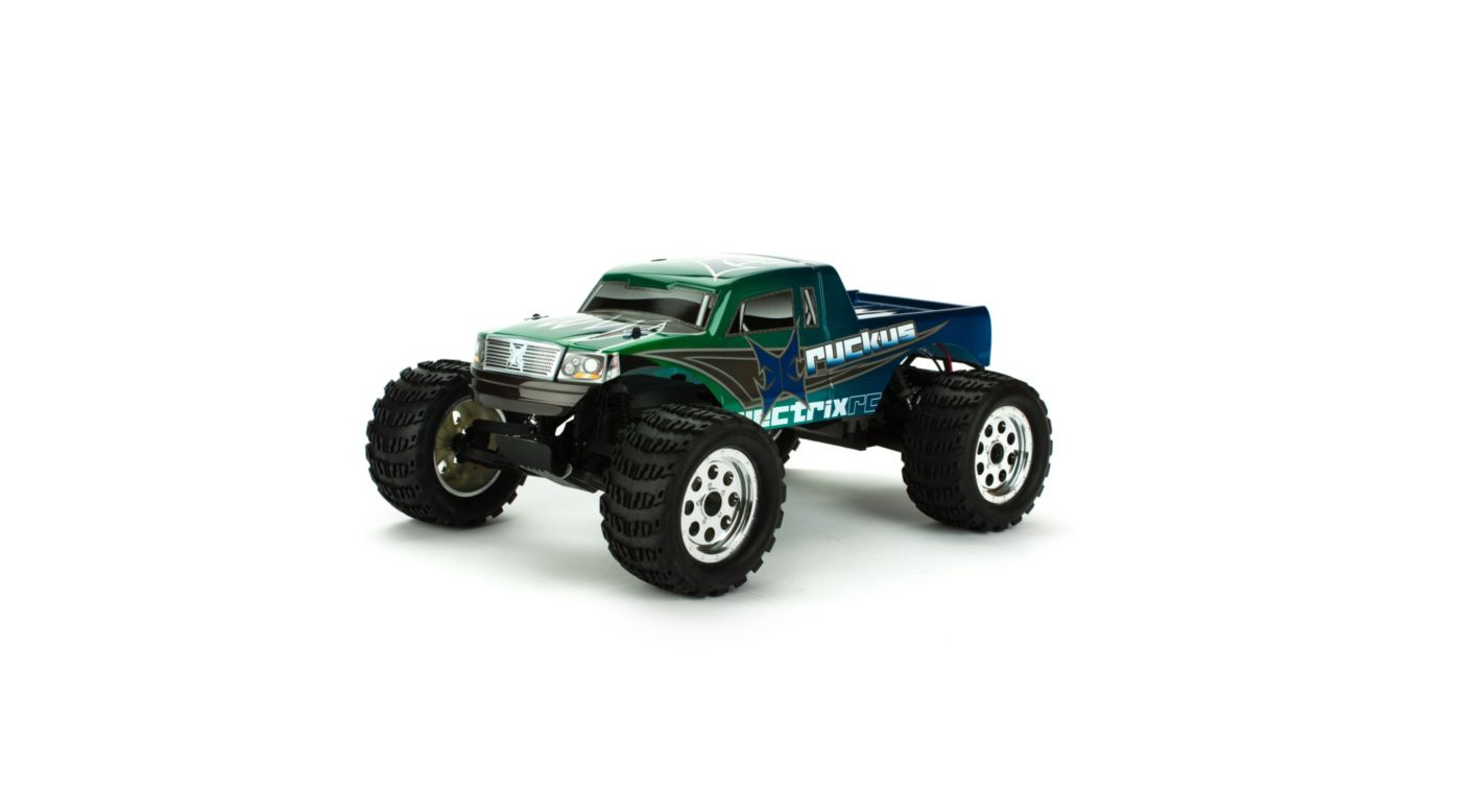 Image for Ruckus 1/10 Monster Truck, Green from HorizonHobby
