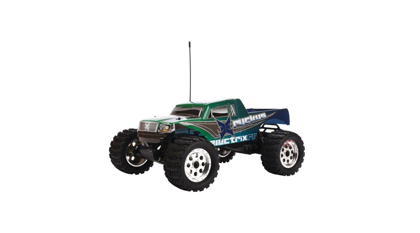Image for Ruckus 1/10 Monster Truck: Green from HorizonHobby