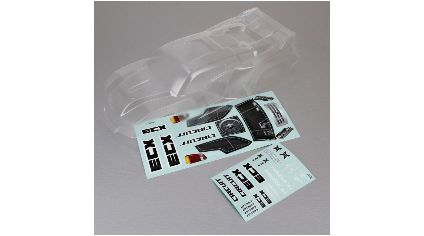 Image for Body, Clear: 1/10 2WD Circuit from HorizonHobby