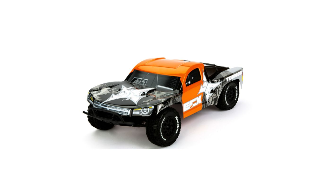 Image for Torment 1/10 Short Course Truck, Black/Orange from HorizonHobby