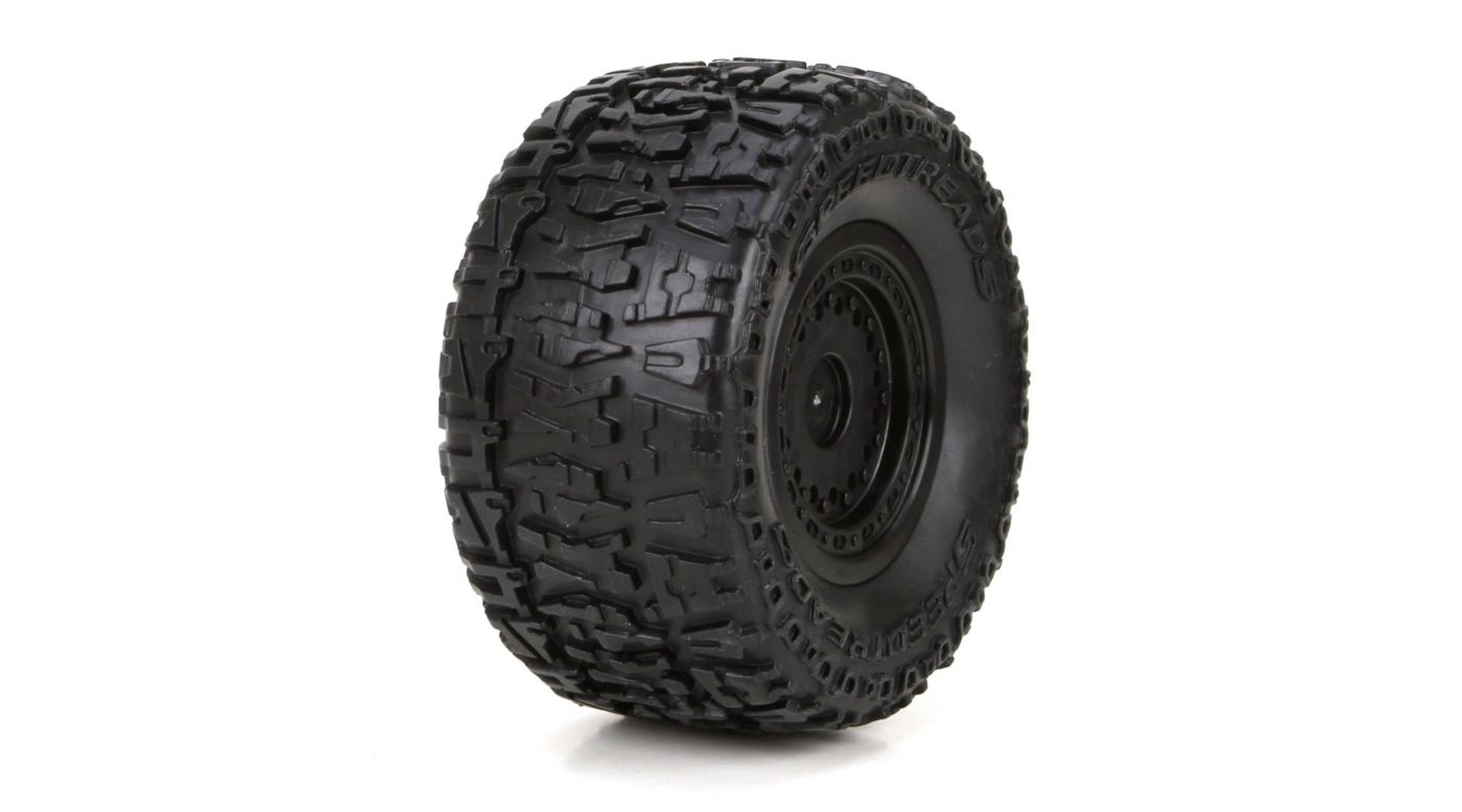 Image for Front/Rear Premount Tire: 1/18 4WD Ruckus (2) from HorizonHobby
