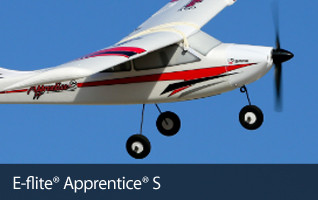 E-flite Apprentice S 15e