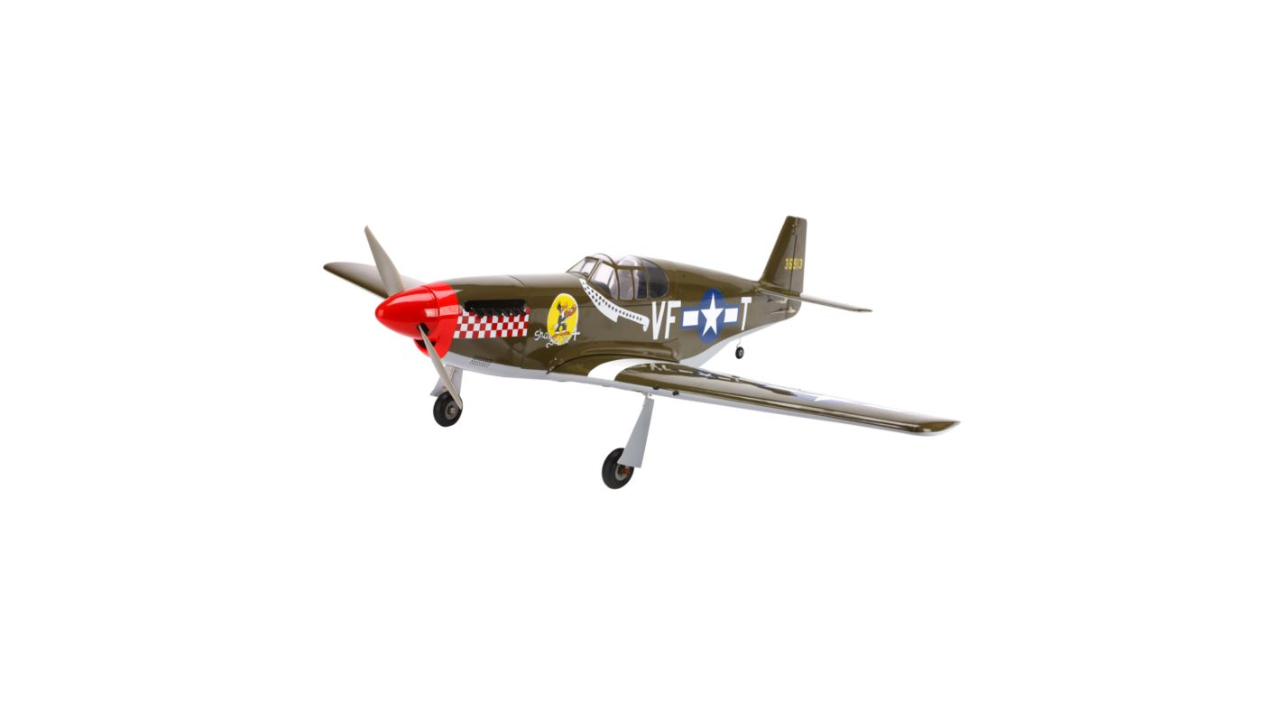 Image for P-51B Mustang 32e ARF from HorizonHobby