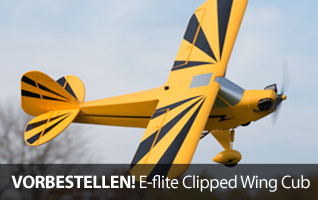 E-flite Clipped Wing Cub 1.2