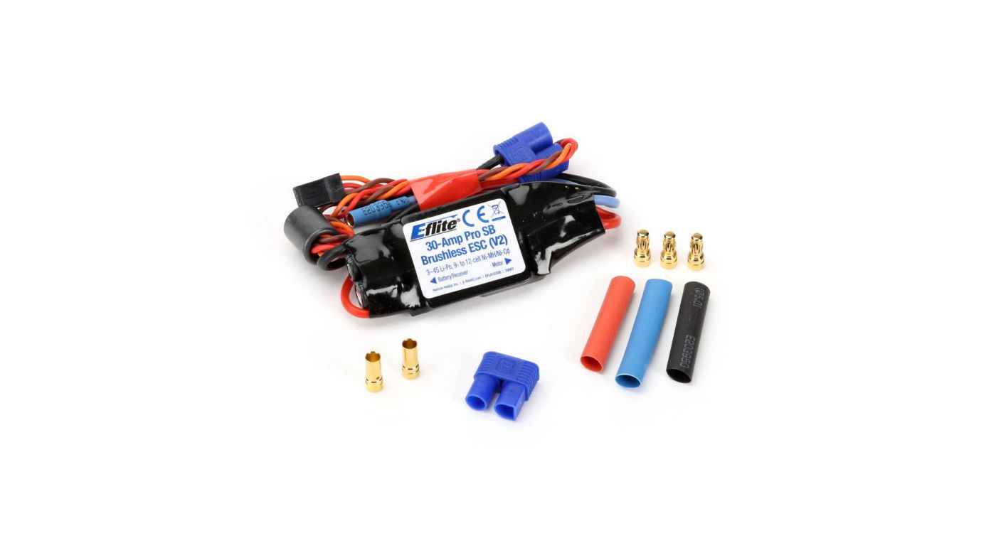 Image for 30-Amp Pro Switch-Mode BEC Brushless ESC (V2) from HorizonHobby