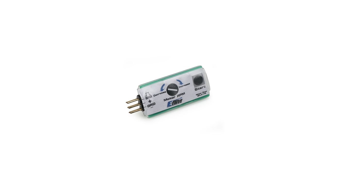 Control line motor timer horizonhobby for Timer switch for motor