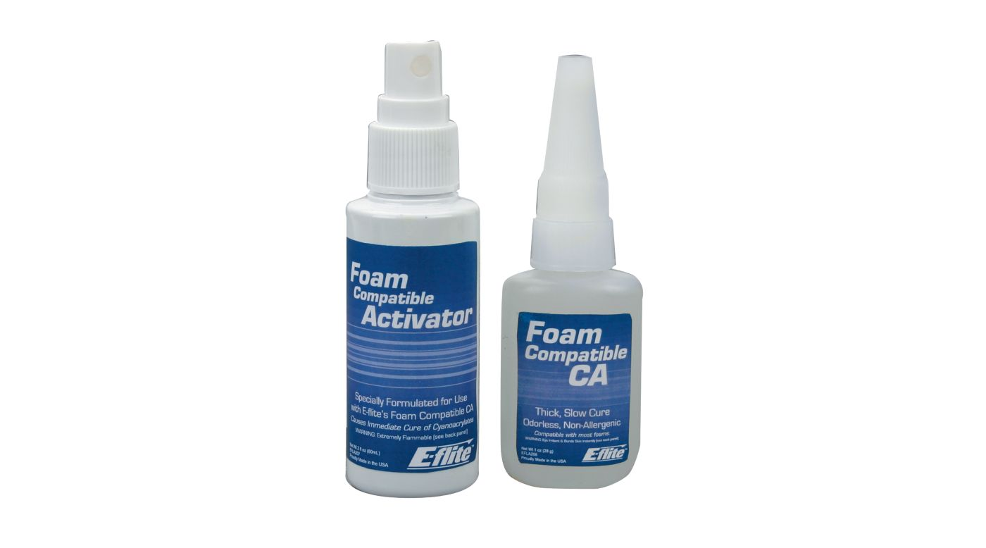 Image for Foam CA 1 oz/Activator, 2 oz Pack from HorizonHobby