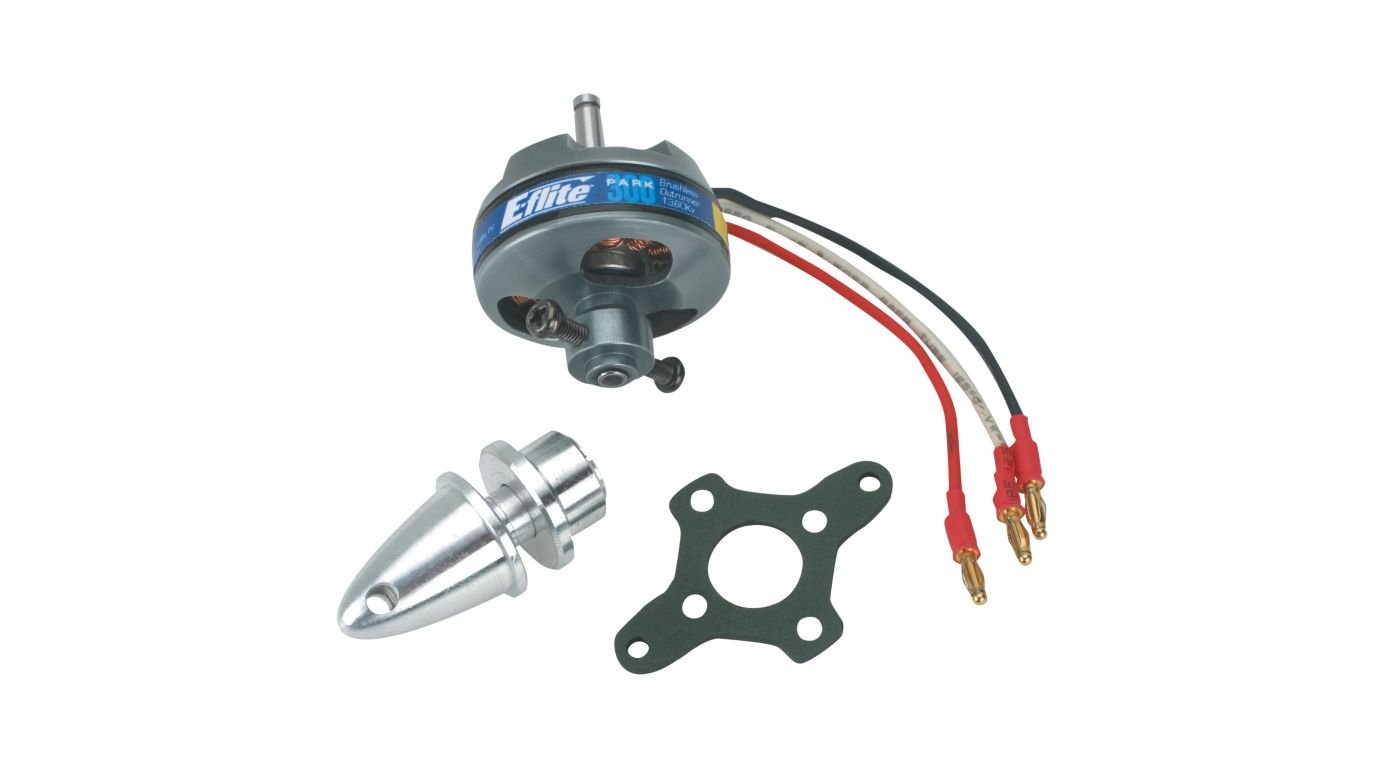 Image for Park 300 Brushless Outrunner Motor, 1380Kv from HorizonHobby