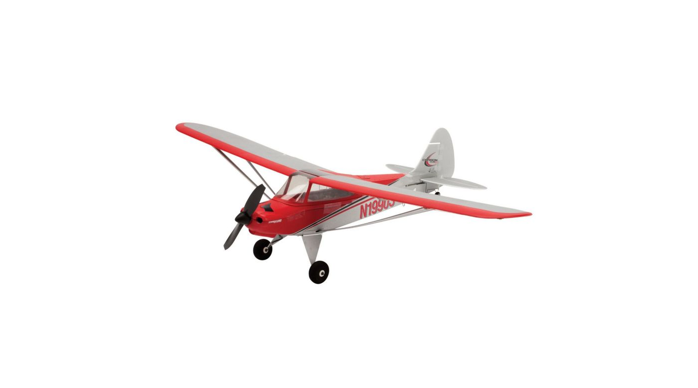 E-flite UMX Carbon Cub SS BNF RC Airplane with AS3X