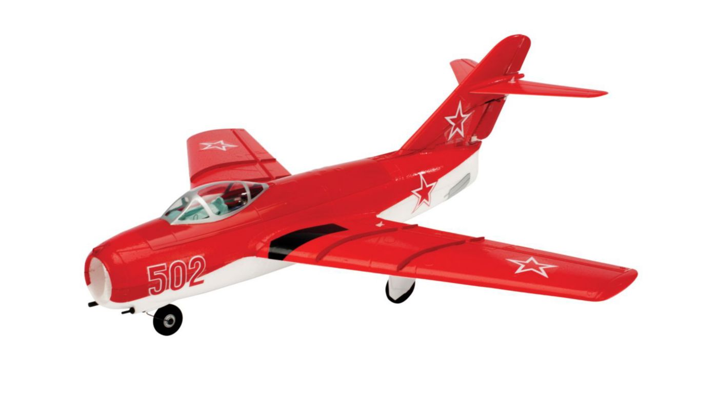 Image for UMX MiG 15 DF BNF with AS3X Technology from HorizonHobby