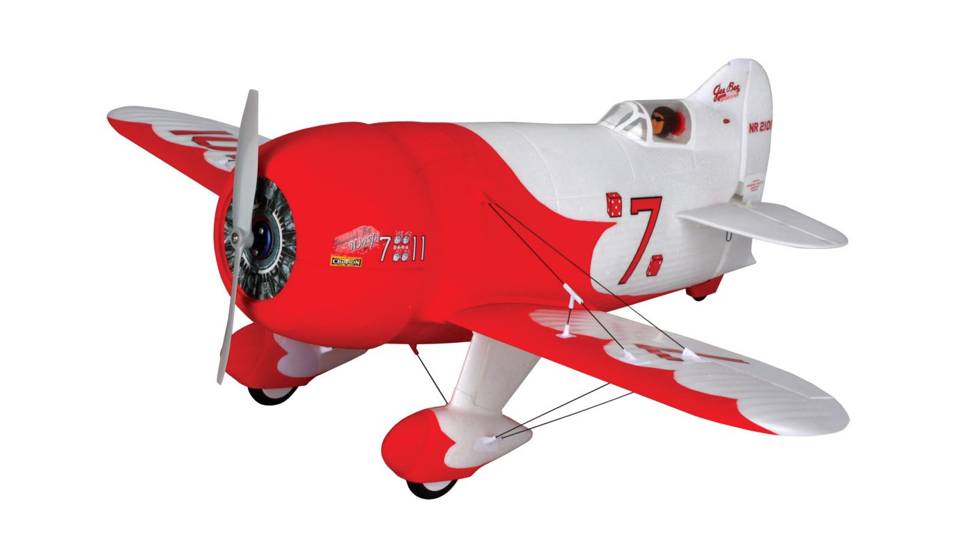 Image for UMX Gee Bee R2 BNF with AS3X Technology from HorizonHobby