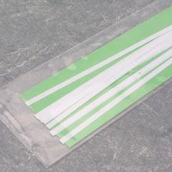 """Evergreen 106 Styrene Strip .010"""" Thick 14"""" Long Pkg 10 x .125"""""""
