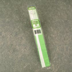 """Evergreen 109 Styrene Strip .010"""" Thick 14"""" Long pkg 10 x .250"""" 269-109"""