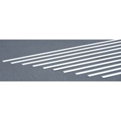 """Evergreen 139 Styrene Strip .030"""" Thick 14"""" Long pkg 10 x .250"""" 269-139"""