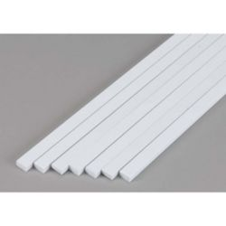 """Evergreen 389 Opaque Styrene Strips .125"""" Thick 24"""" Long .250"""" Wide pkg 7 269-389"""