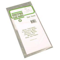 "Evergreen 9008 Styrene Sheet Plain 6 x 12"" Assortment"
