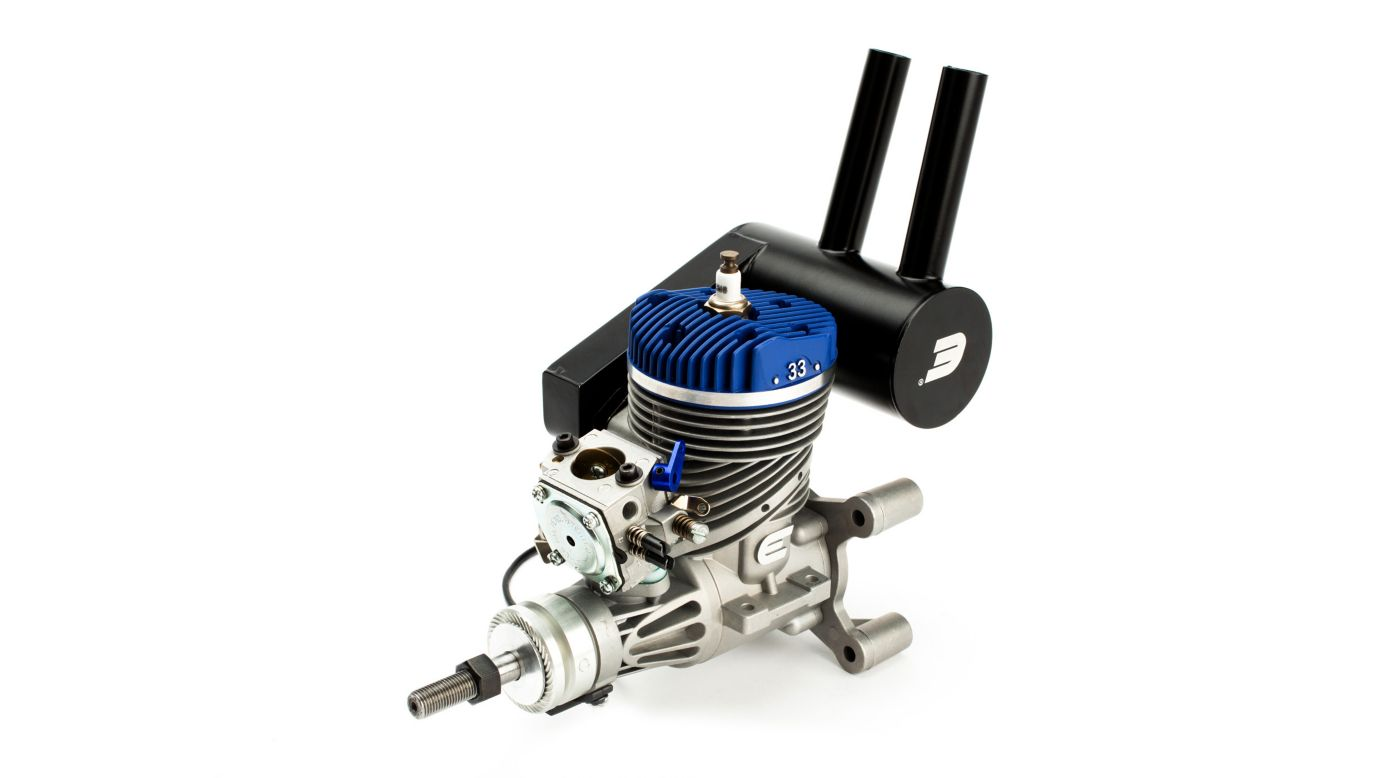 Image for 33GX 33cc (2.00 cu. in.) Gas Engine from HorizonHobby