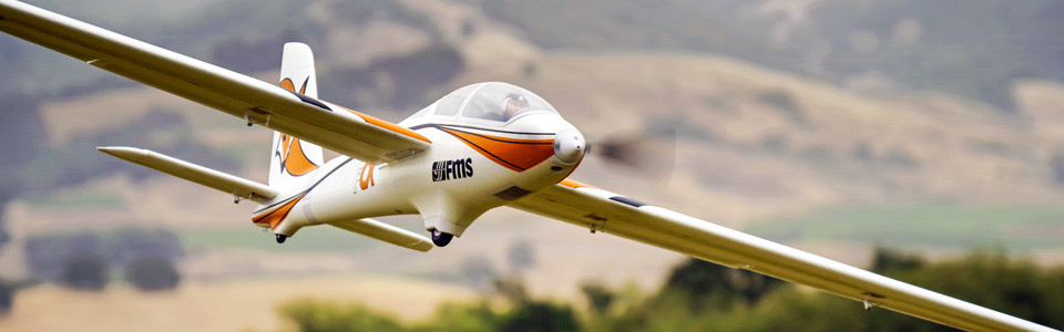 FMS Fox 3000mm Aerobatic EP Glider PNP