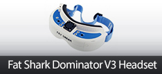 Fat Shark Dominator V3 Headset RC FPV Gear