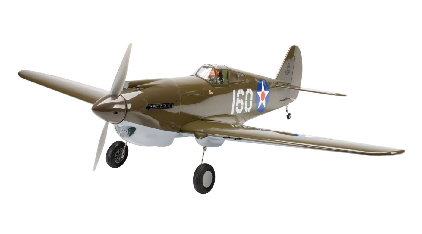 Image for P-40B Warhawk 50 ARF, .46-.55 from HorizonHobby
