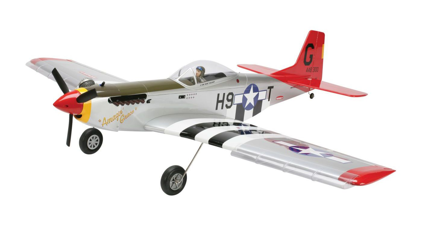 Image for P-51 Mustang MkII PTS RTF from HorizonHobby