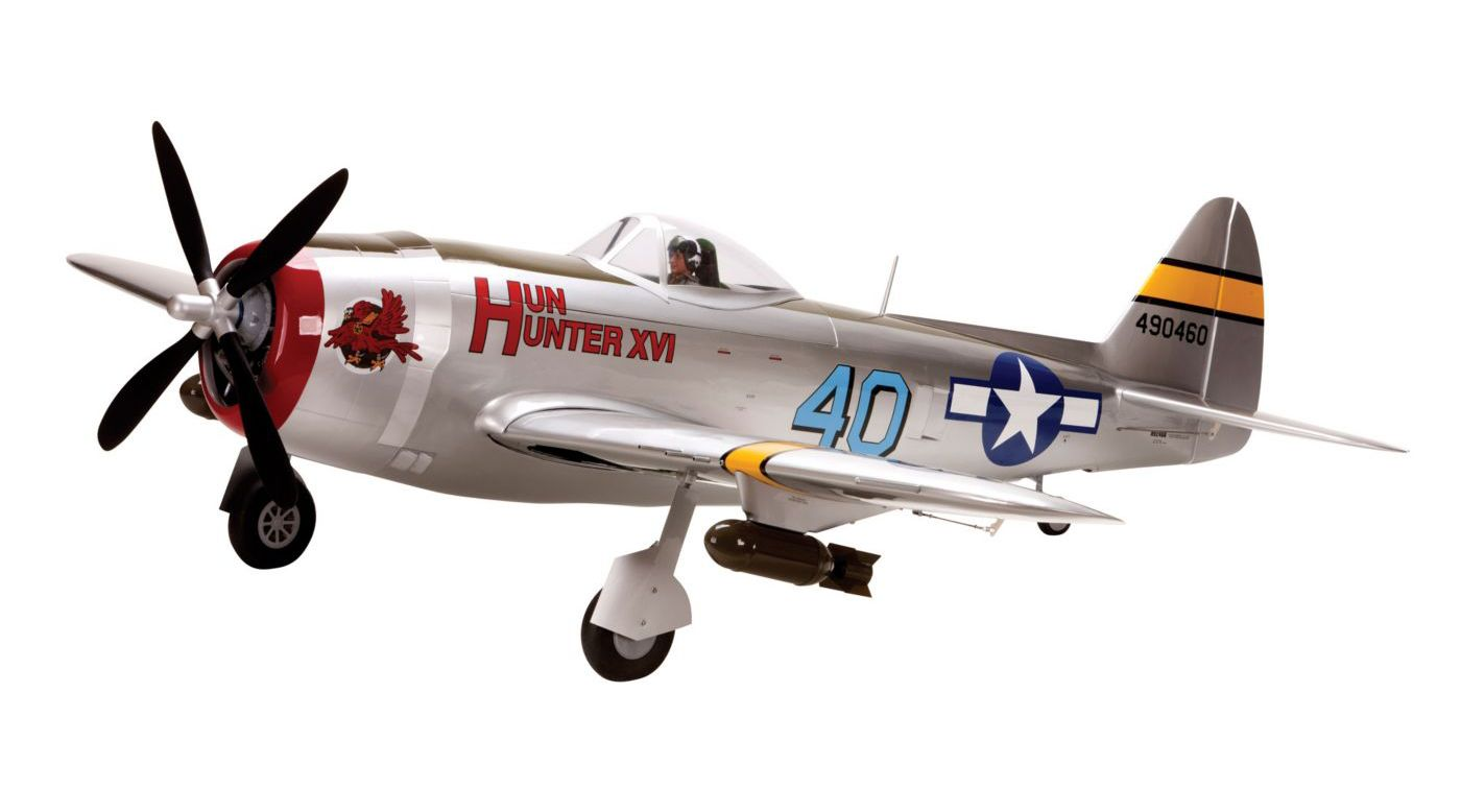 Image for P-47D-40 Thunderbolt 30cc ARF from HorizonHobby