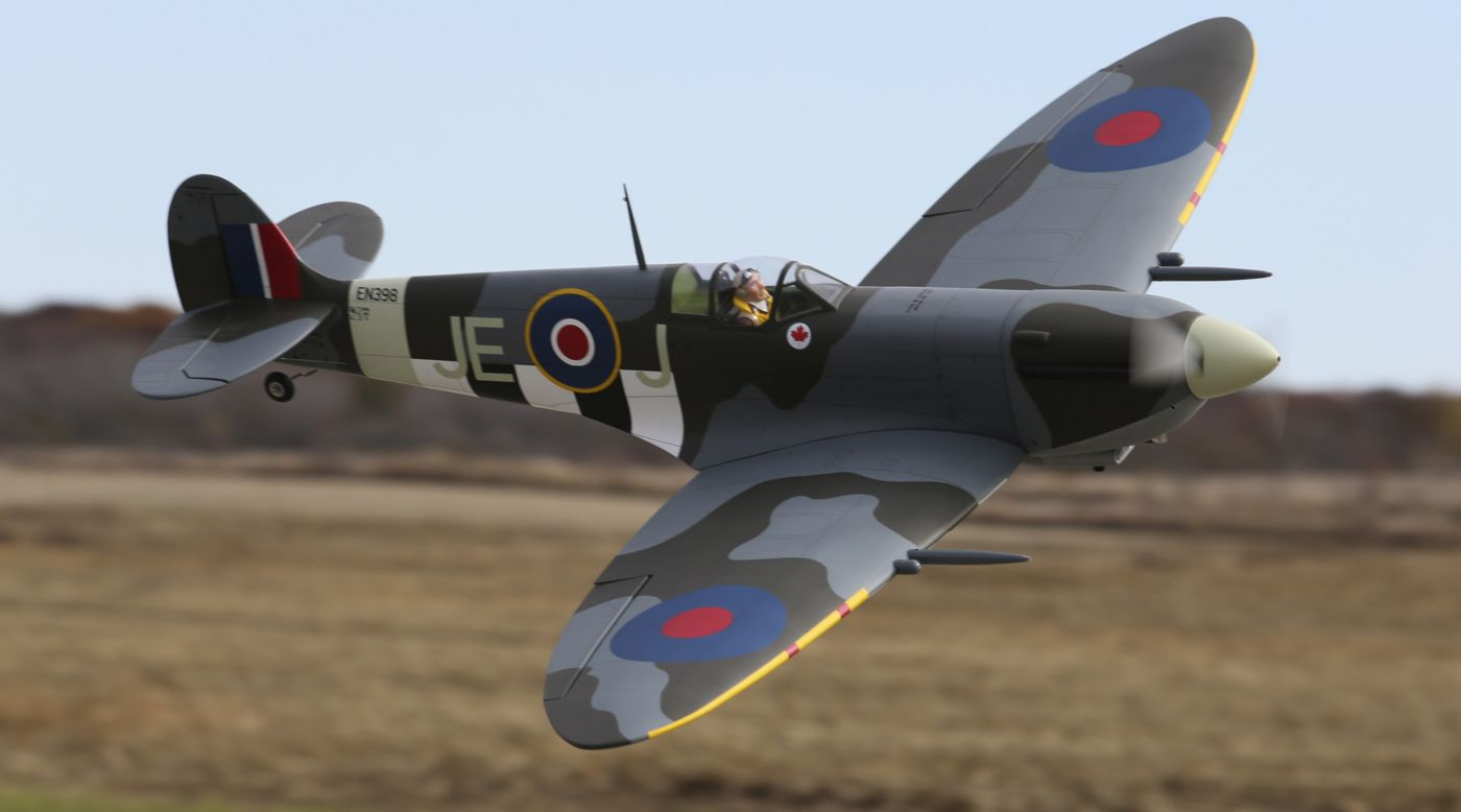 Image for Spitfire Mk IXc 30cc ARF from HorizonHobby