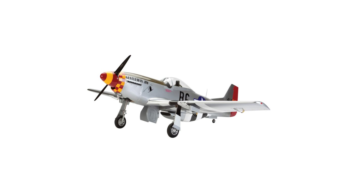 Image for P-51D Mustang 60cc ARF from HorizonHobby