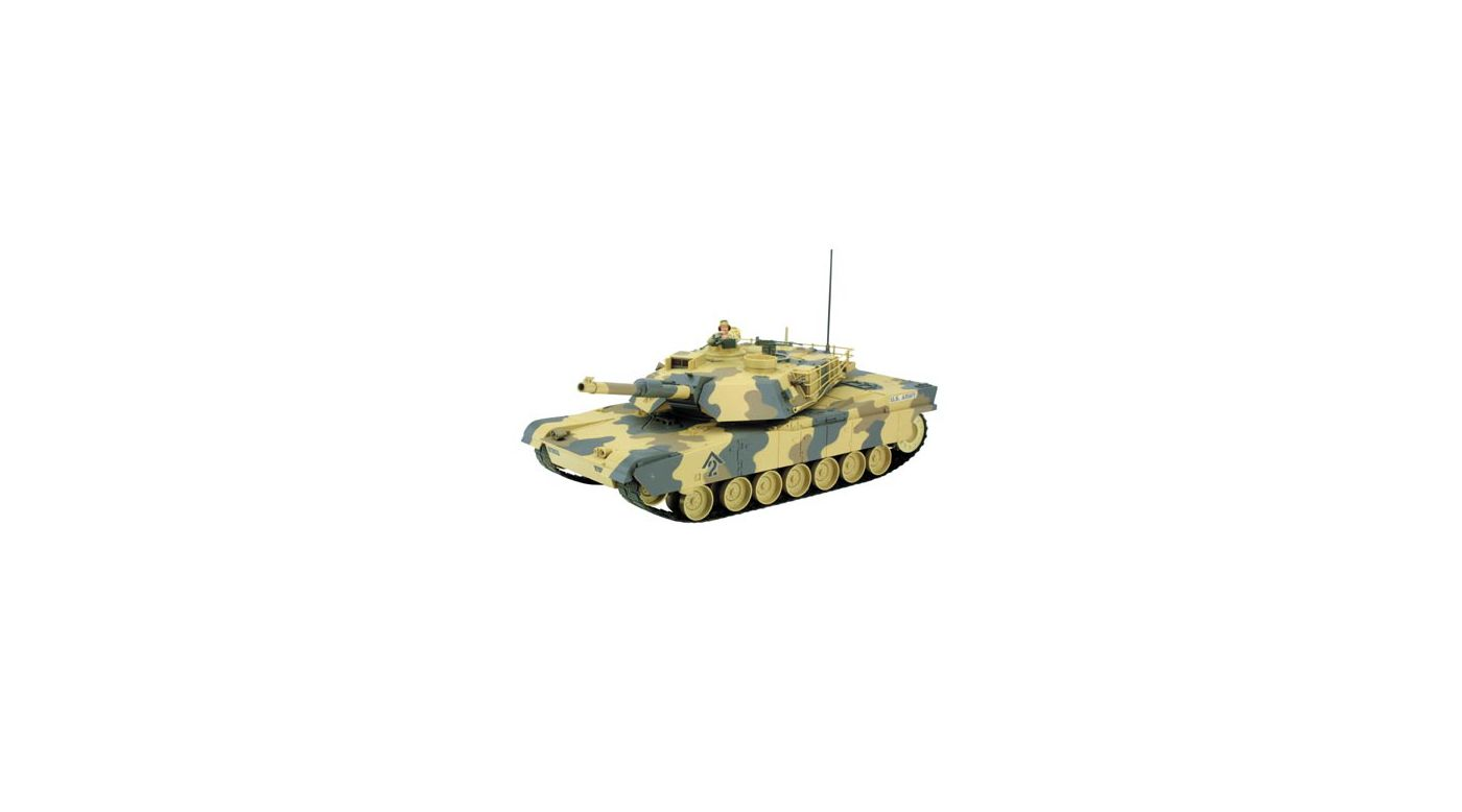 Image for M1A1 Abrams Tank RTR, 27MHz, Tan from HorizonHobby