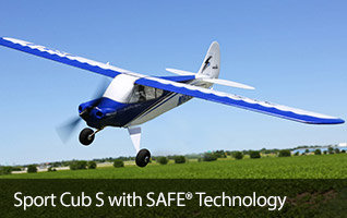 HobbyZone Sport Cub S SAFE Technology