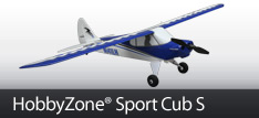 HobbyZone Sport Cub S Mini RC Airplane with SAFE Technology