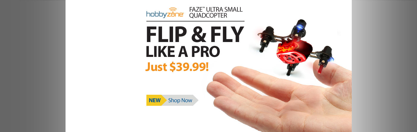 HobbyZone Faze Ultra Small Quadcopter