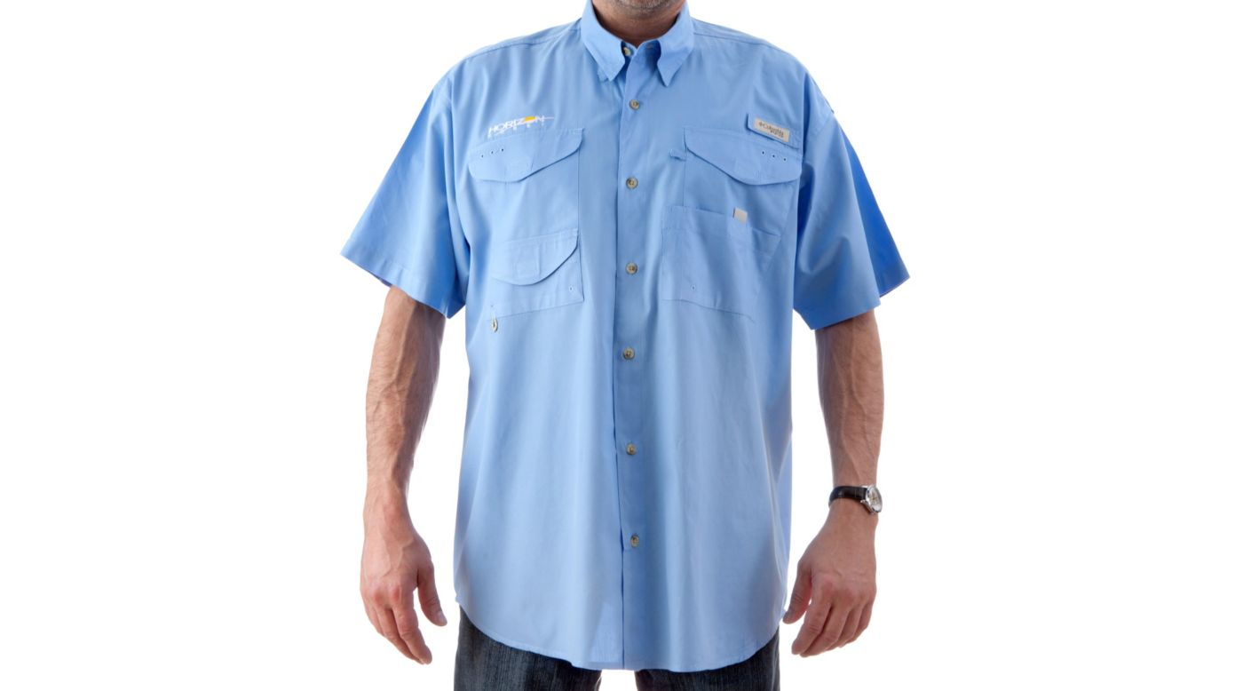 Image for Bonehead Short Sleeve Shirt, Blue, Small from HorizonHobby