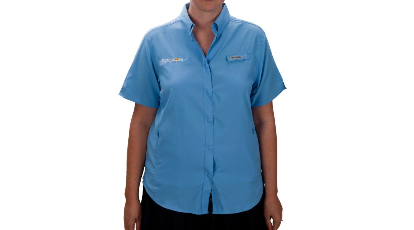 Image for Women's Tamiami II Short Sleeve Shirt, Blue, Small from HorizonHobby