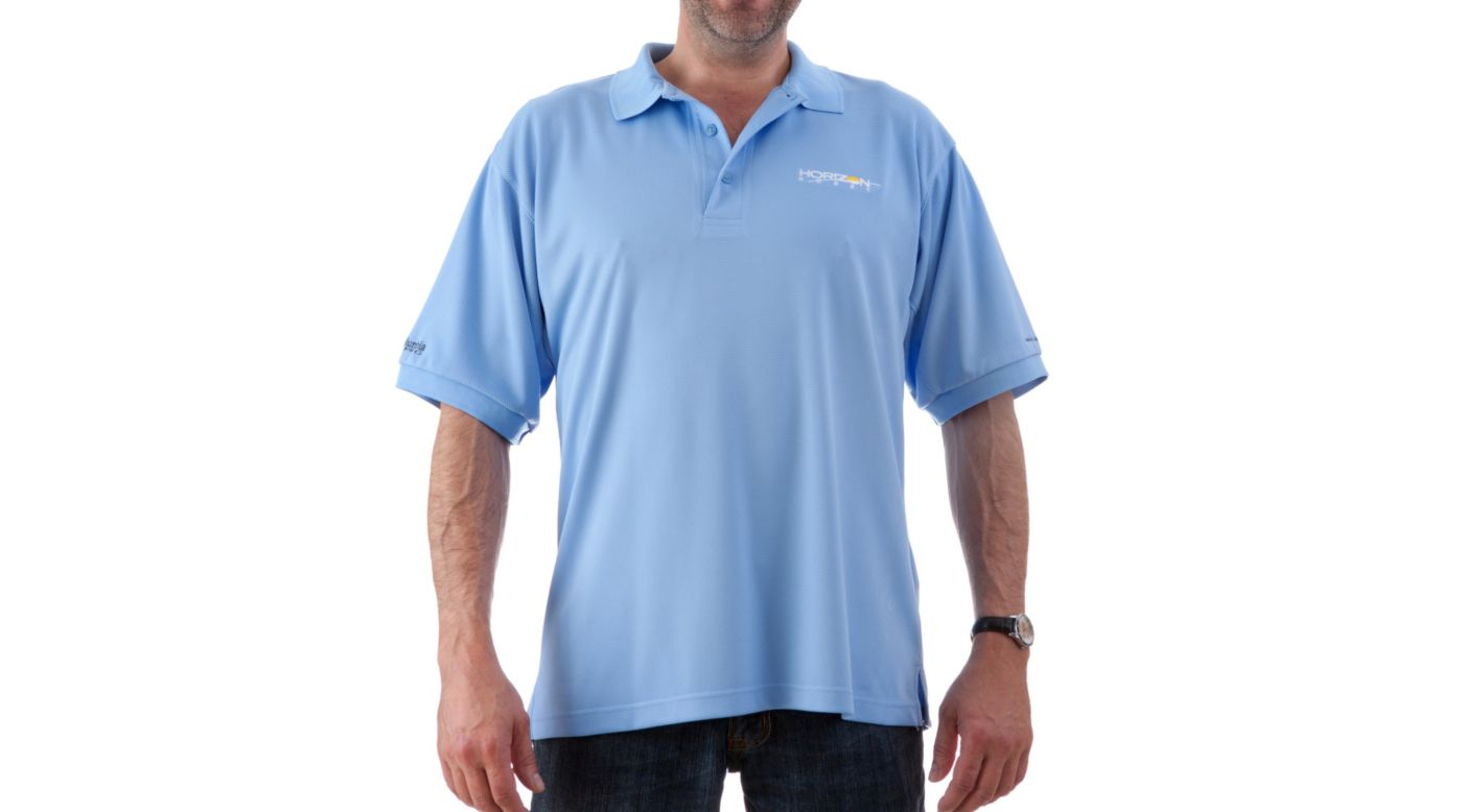 Image for Perfect Cast Polo, Blue, Small from HorizonHobby
