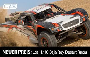 Neuer Preis! Losi 1/10 Baja Rey Desert Racer BND