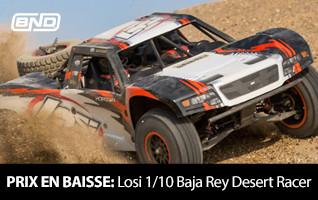 Prix En Baisse! Losi 1/10 Baja Rey Desert Racer BND