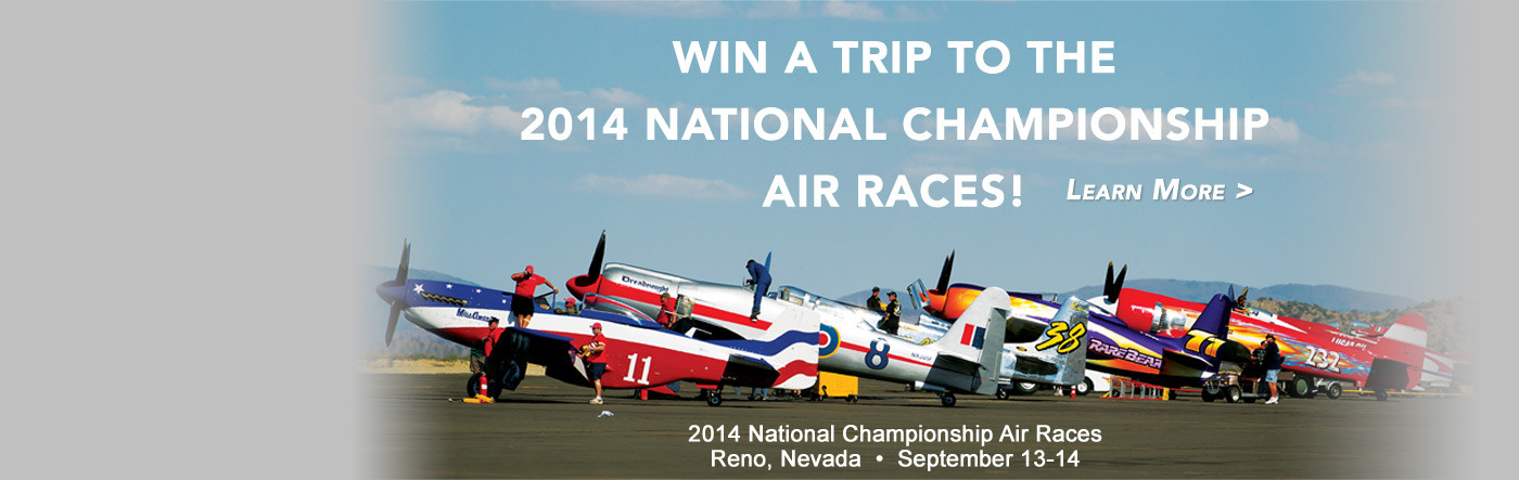 Win a Trip to the 2014 National Championship Air Races