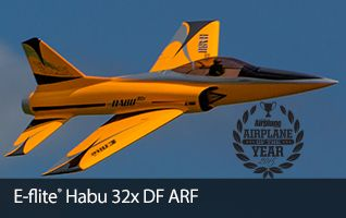 E-flite Habu 32x Jet Ducted Fan RC Radio Remote Control Airplane