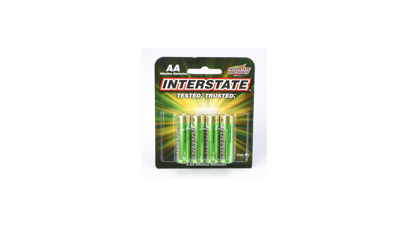 Image for AA Alkaline Batteries (4) from HorizonHobby